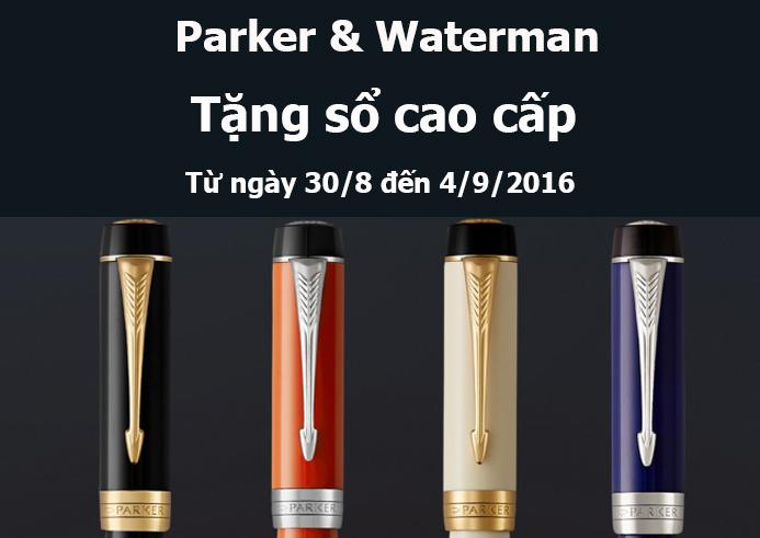 Parker & Waterman khuyến mãi chào mừng Quốc khánh 2-9
